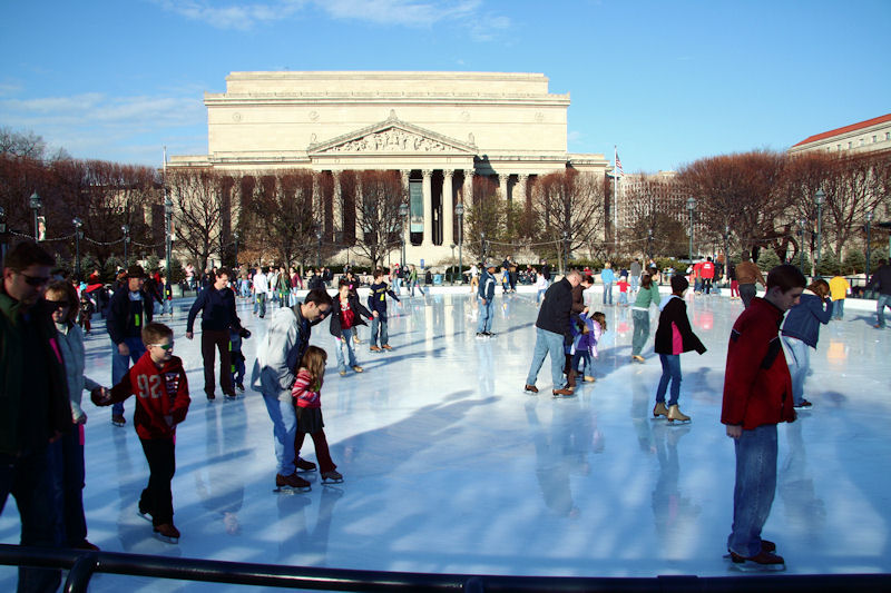 sculpture garden ice rink the monumental experience